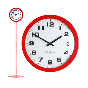 Stand Clock Simple(Red)